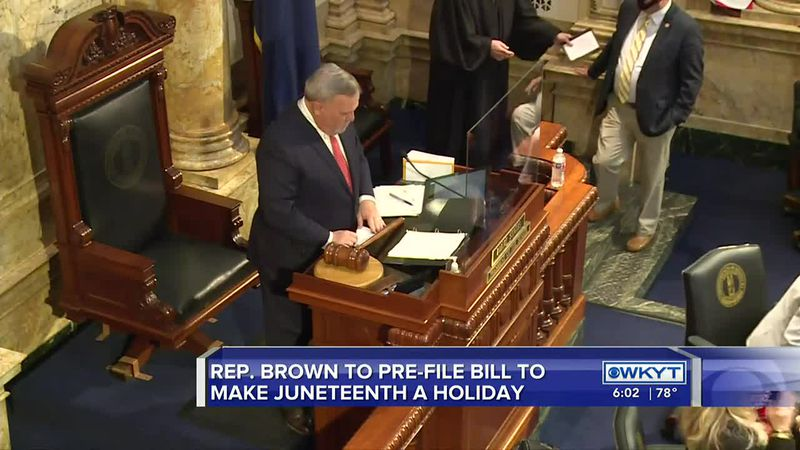 Ky. state representative plans to pre-file bill to make Juneteenth a holiday