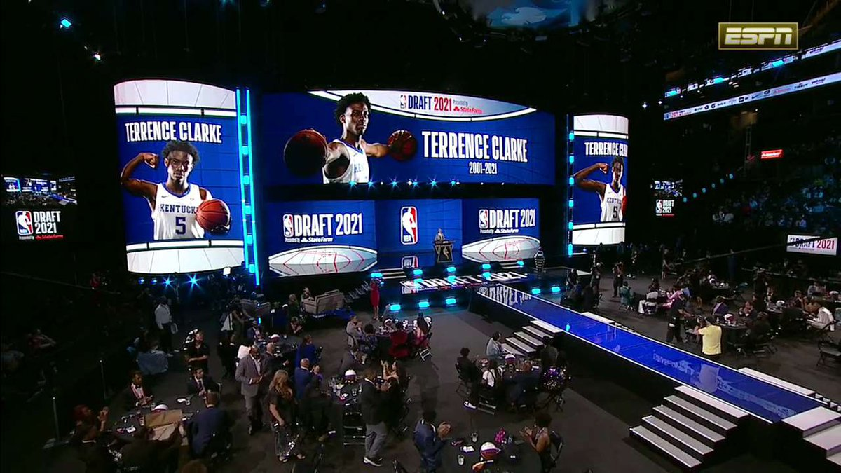 Terrence Clarke honored at NBA Draft