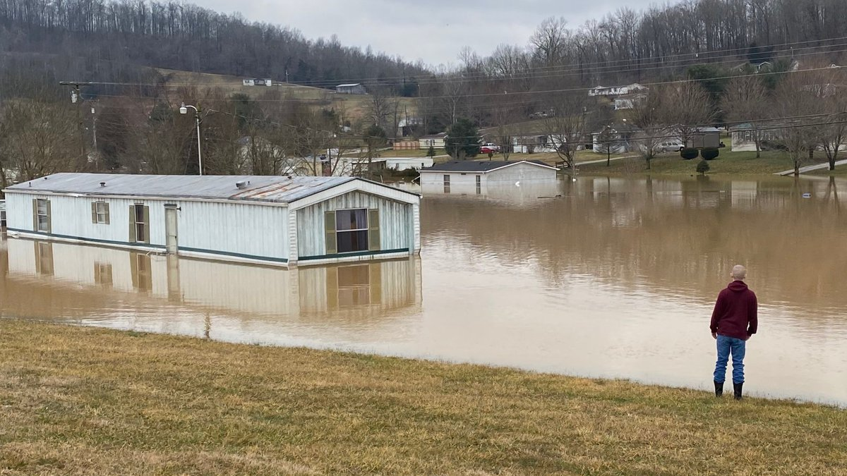 Several people were forced from their homes and aren't able to return due to flooding in Mt....