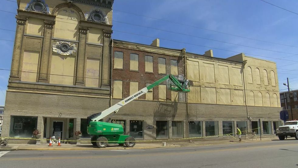 Many historic building facades are getting a bit of a makeover, which is a much needed...