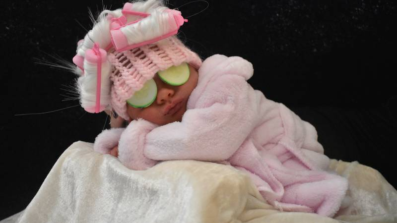 Check out UofL's annual NICU Halloween photoshoot