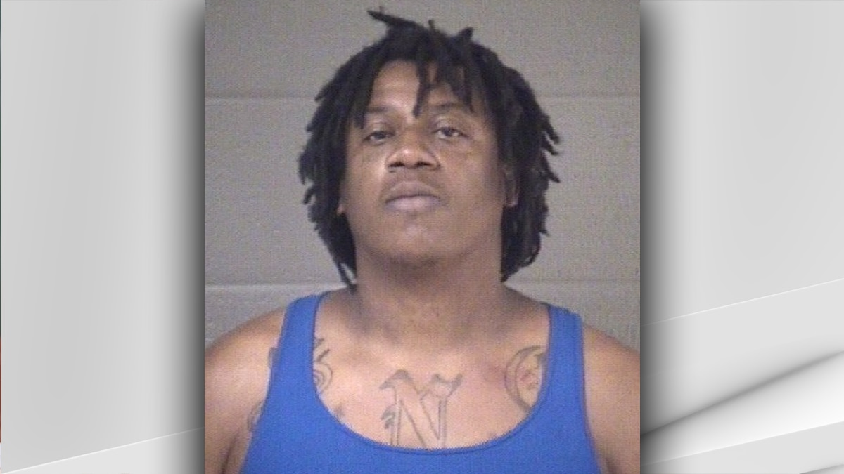 Christopher Tandy, 41, was arrested and charged with the murder of a man in Jeffersonville...