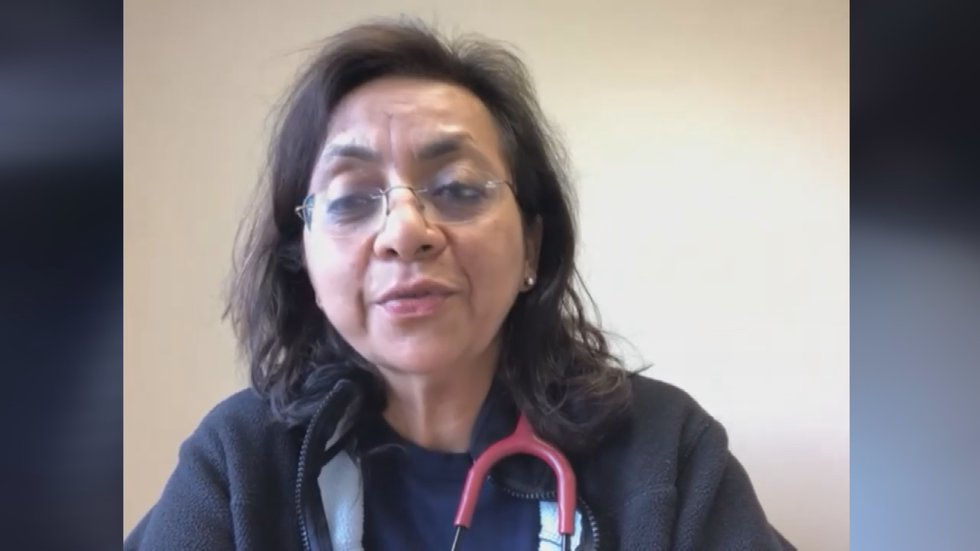 Dr. Nandita Telang is a native of India who currently lives in Louisville.