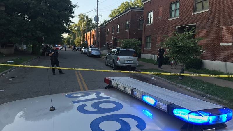 The shooting happened along 17th Street near California Park. (Source: WAVE 3 News)