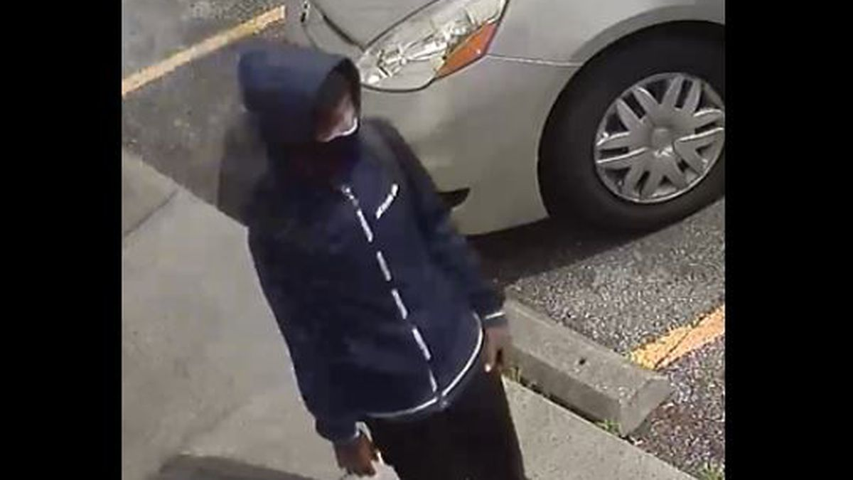 LMPD investigators are looking for a man suspected in a homicide at a liquor store in the...