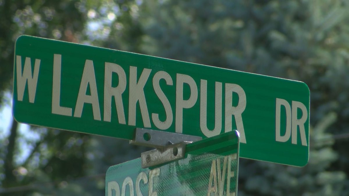 Jeffersonville police officers responded to the 800 block of West Larkspur Drive on a report of...