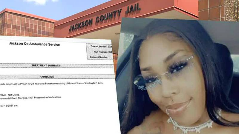 EMTs said when they saw Ta'neasha Chappell at Jackson County Jail, they knew something was...