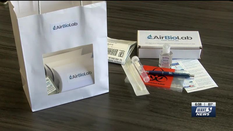 AirBio Lab, based out of Sellersburg, created same-day rapid COVID tests.