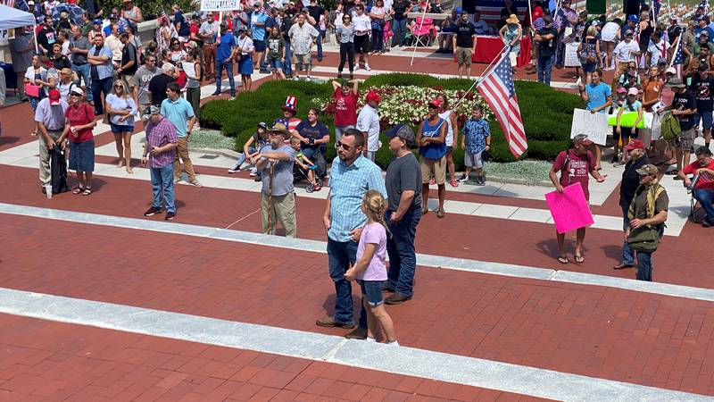 Freedom Rally in Frankfort