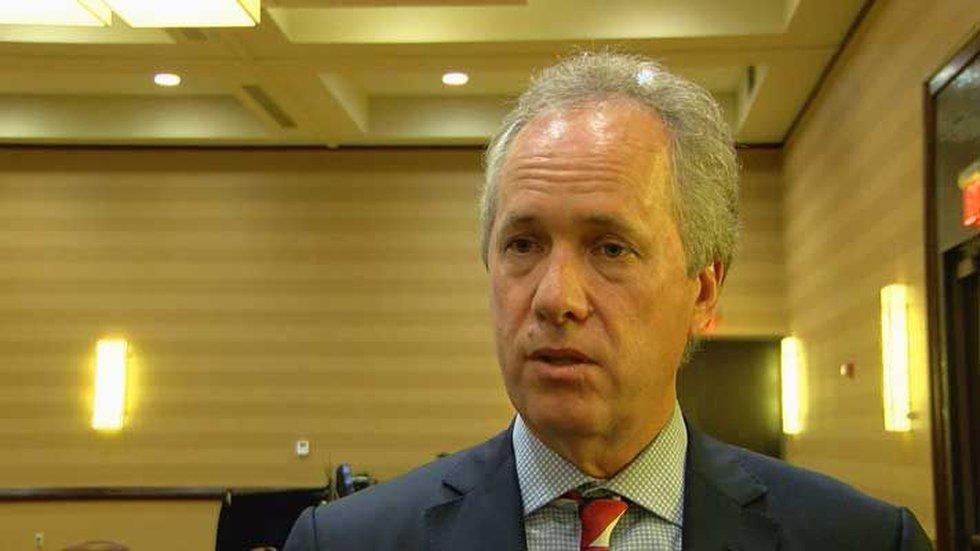 Mayor Greg Fischer (Source: Sharon Yoo, WAVE 3 News)
