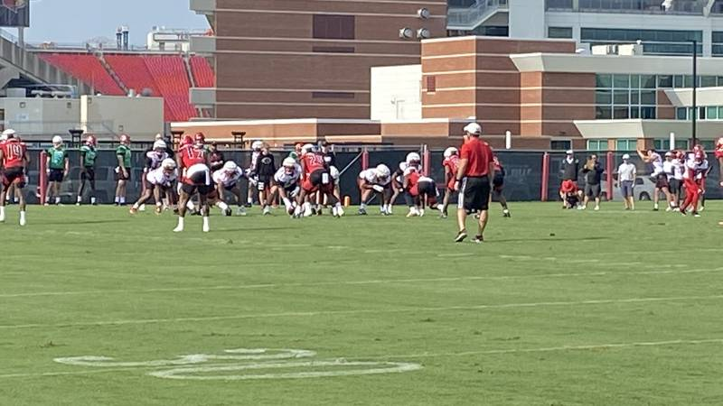 Cards kickoff practice for 2021 season