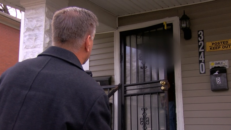 Police told me when scores of people are seen coming and going from a home after spending a...