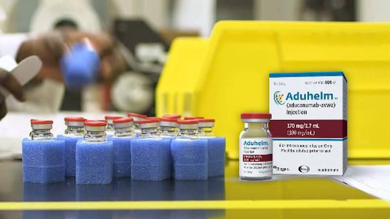 Made by Biogen, Aducanumab, later sold under the brand name Aduhelm, is designed to block...