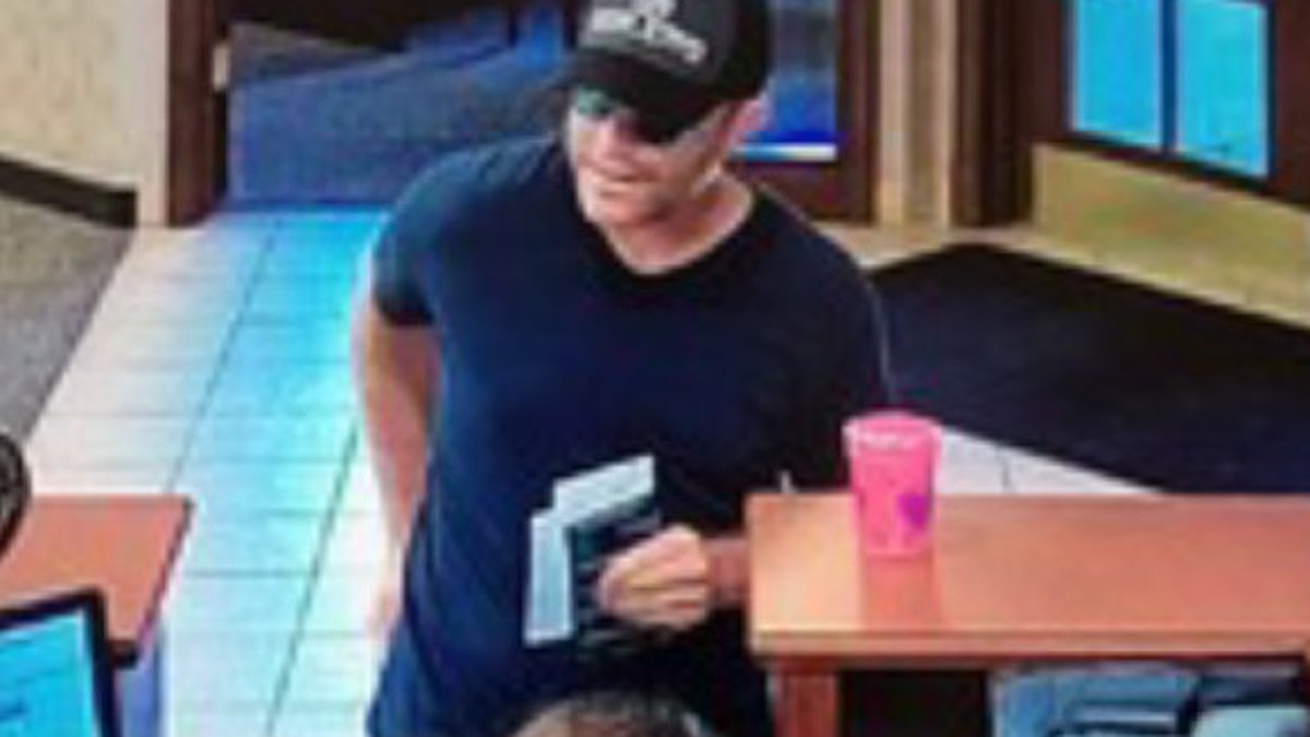ISP said this man robbed First Savings Bank in Marengo on August 9.