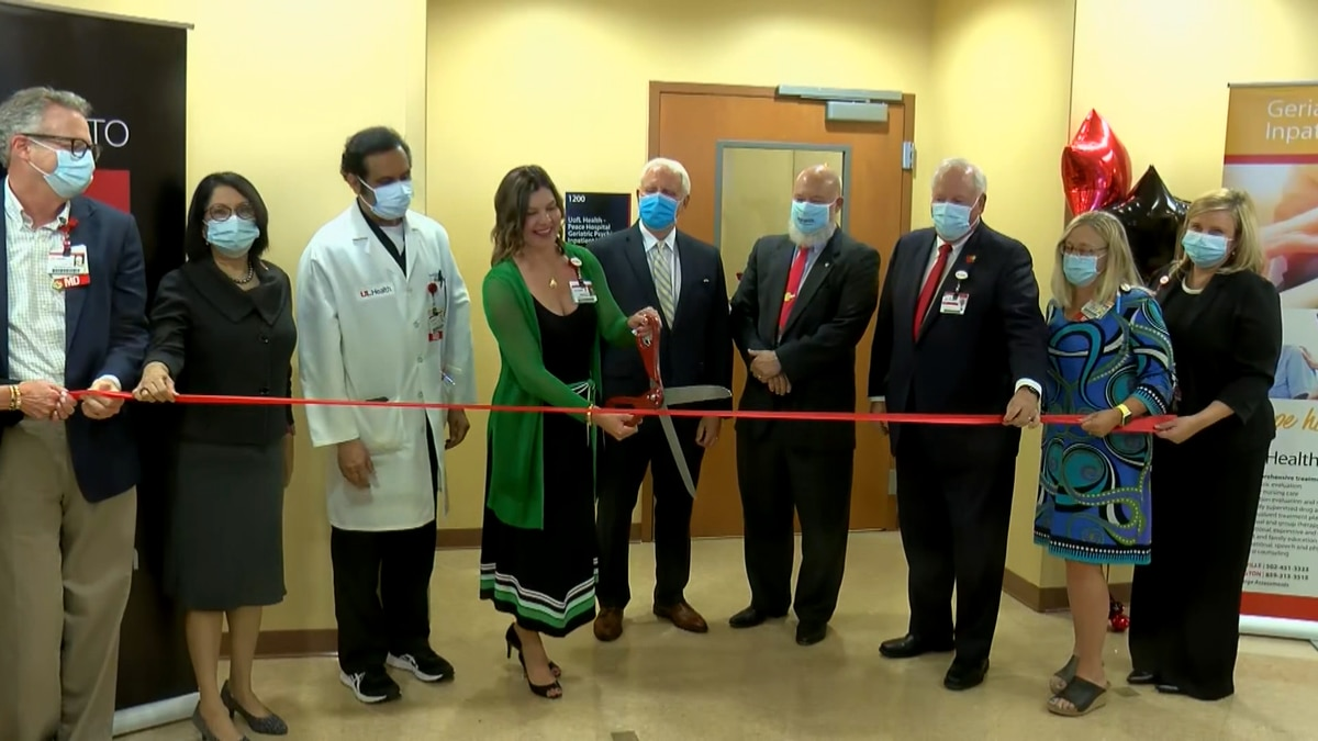 A ribbon cutting event for the new psychiatric inpatient unit was hosted Tuesday morning at...