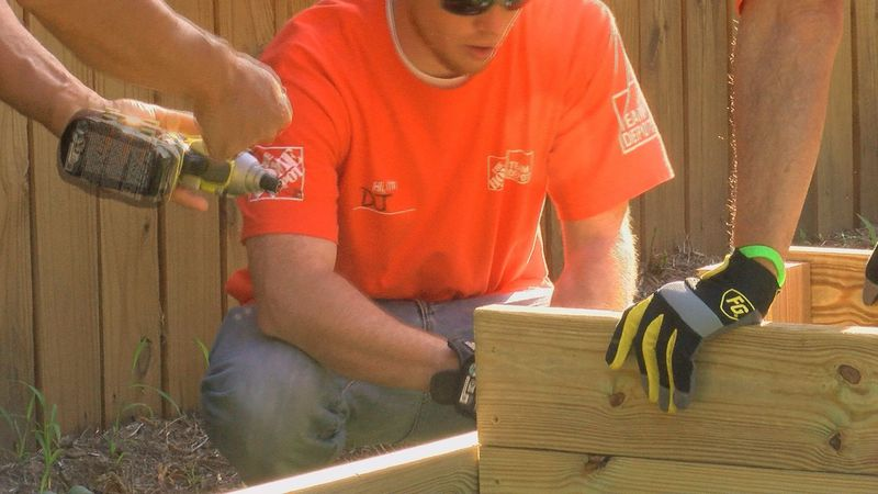 The Home Depot team helped complete a months' worth of work in just a few hours. (Source: WAVE...