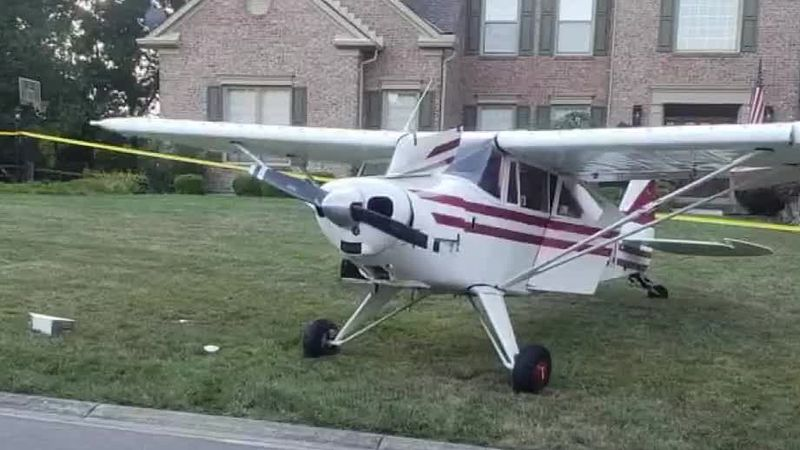 Pilot of plane discusses emergency landing in Miami Twp.