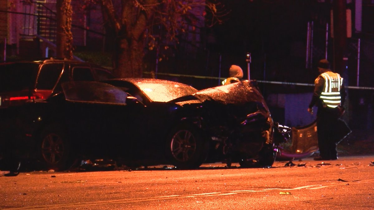 Two vehicles were involved in the crash on West Main, which resulted in one death and four...