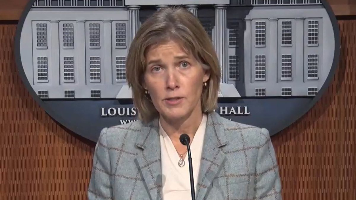 Metro Louisville Chief of Public Safety Amy Hess shared details of the LMPD audit on Thursday,...