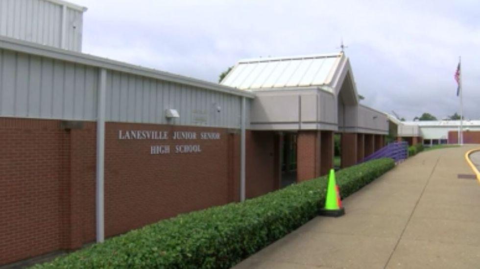 Three days into the 2020-21 school year, four students at Lanesville Junior-Senior High School...