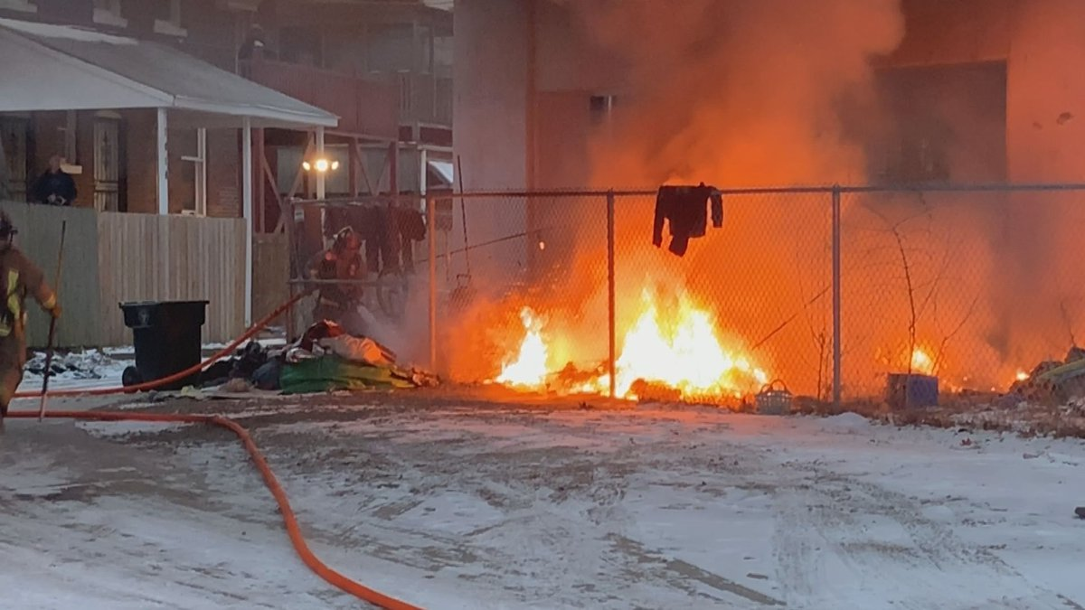 The fire was reported in the 1000 block of South Brook Street around 7:50 a.m. Thursday,...