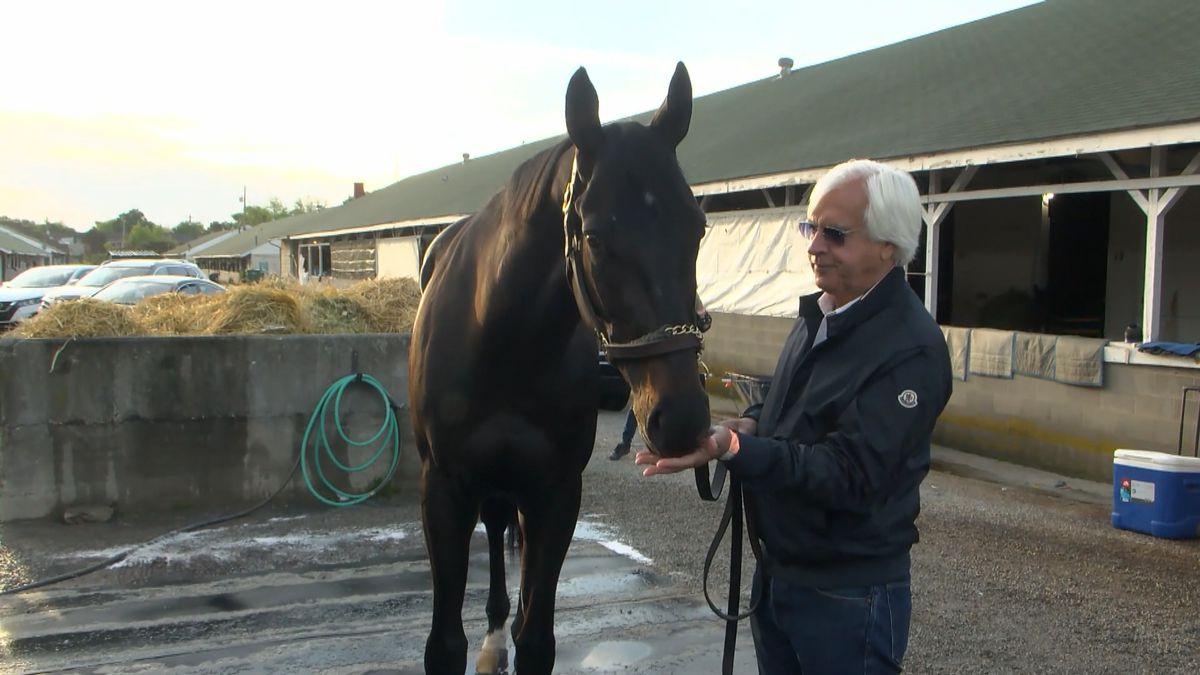 Bob Baffert and Medina Spirit