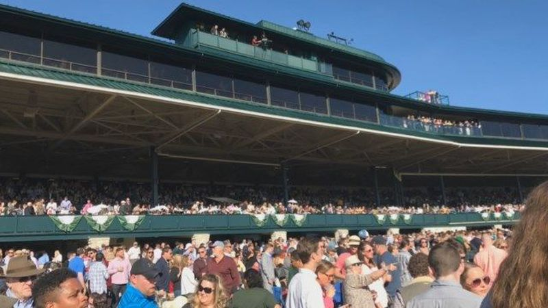 Keeneland is located in Lexington, KY. (Source: Kendrick Haskins/ WAVE 3 News)