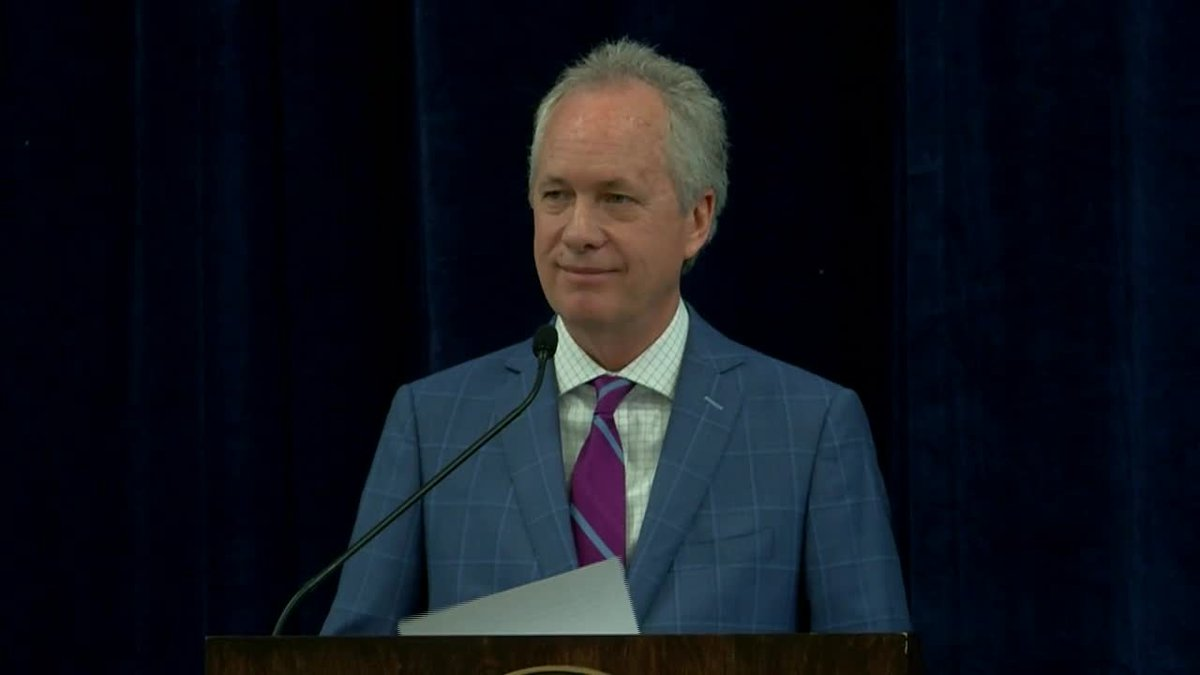 Louisville Mayor Greg Fischer delivered the 2020 State of the City address on February 6, 2020...