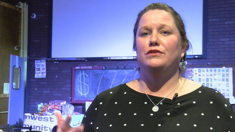 Leslie Duncan said her family will use the winnings to pay medical bills after her...