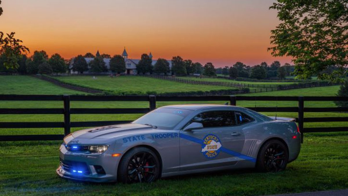 Kentucky State Police's submission for the national Best Looking Cruiser contest.