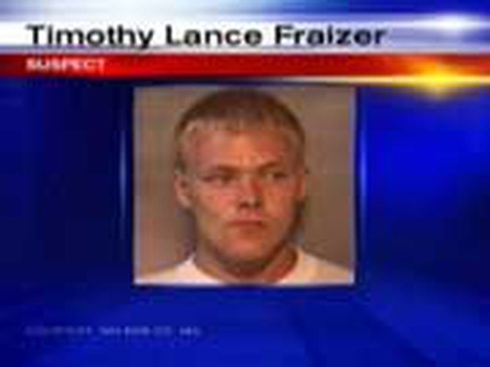 Timothy Lance Frazier (source: Nelson County Jail)