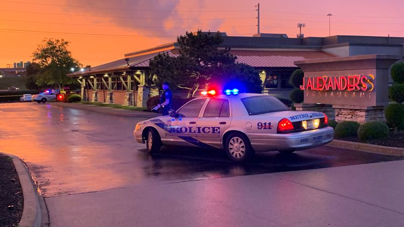 Two people were hurt in a shooting at J. Alexander's on Oxmoor Court, according to Metrosafe.