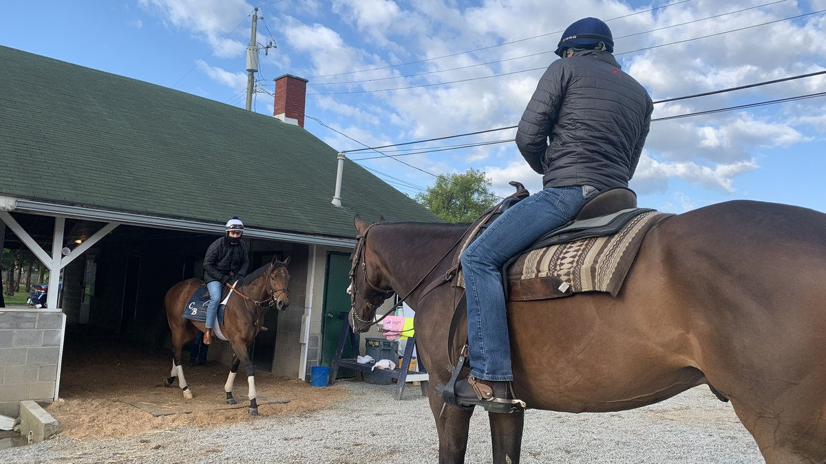 Assistant trainer, Whit Beckman hopes to win the Kentucky Derby in front of hometown crowd.