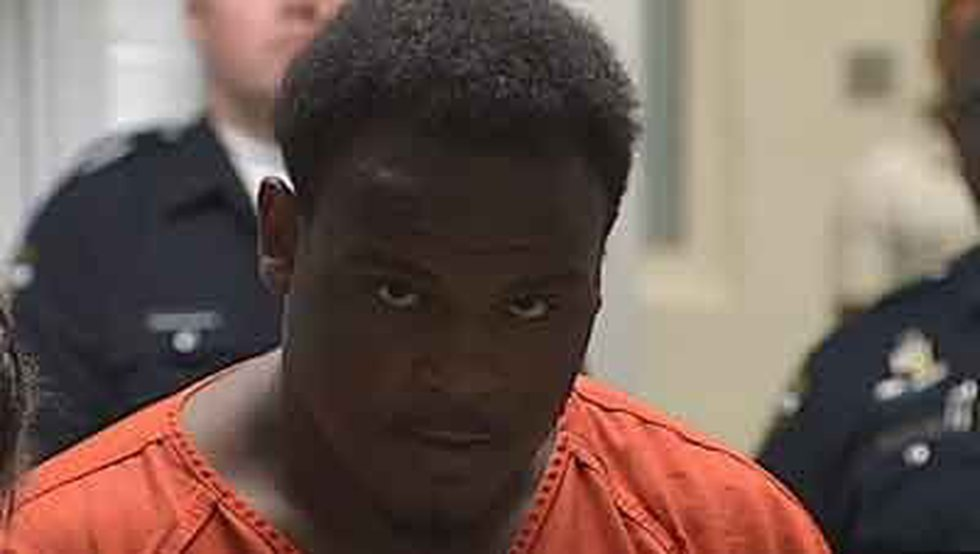 Nashawn Mills appeared in jail court Tuesday morning.