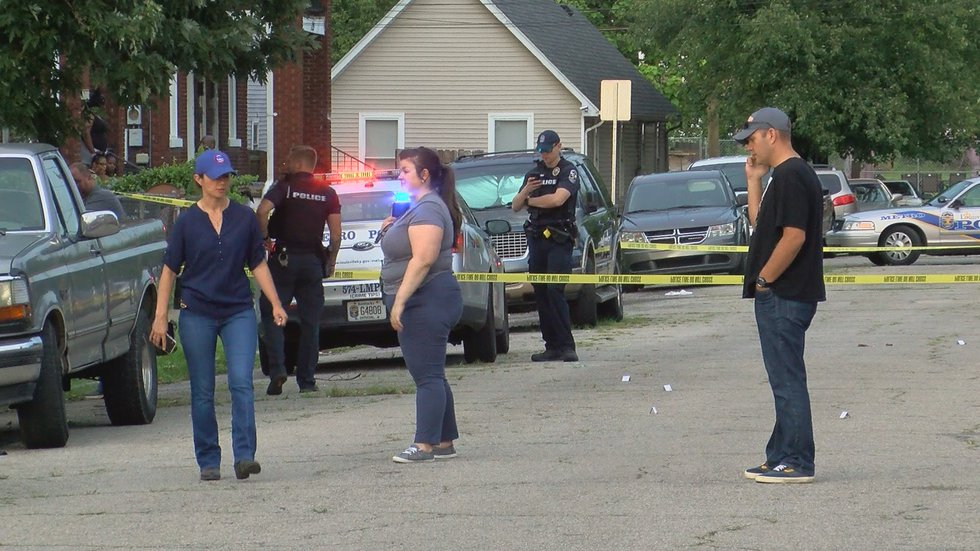 One person was found shot at Roselane and Clay Streets.