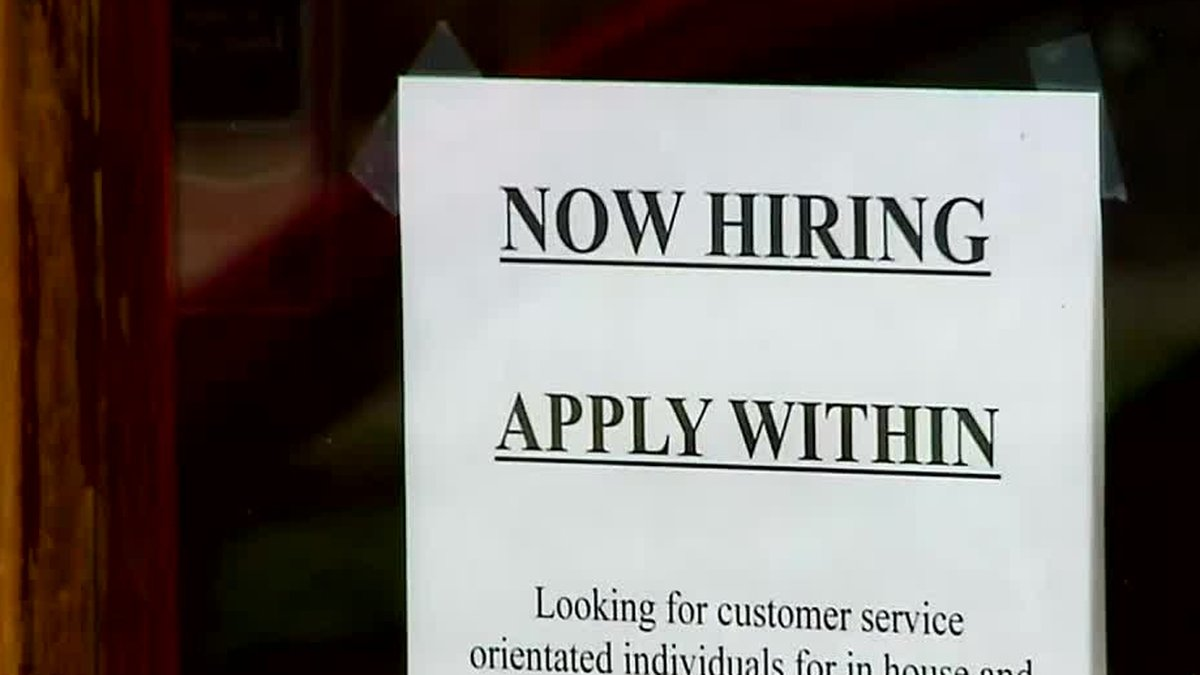Federal unemployment benefits, including the $300 per week payment, are expiring Monday.