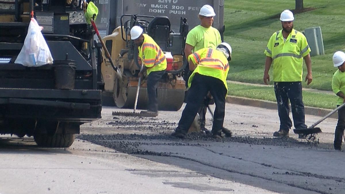 Mayor Greg Fischer plans to invest $55 million to fix Metro Louisville's roads and sidewalks.