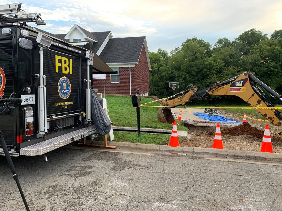 The FBI continued searching for the body of Crystal Rogers in Nelson County on Aug. 25. A...