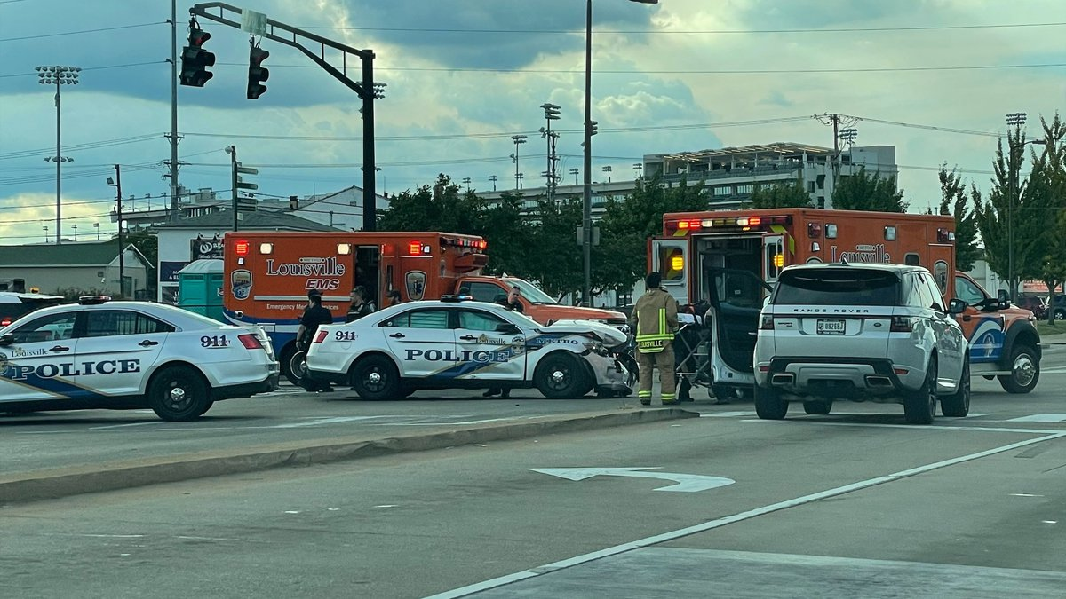 Louisville Metro Police are investigating an officer-involved collision on the intersection of...