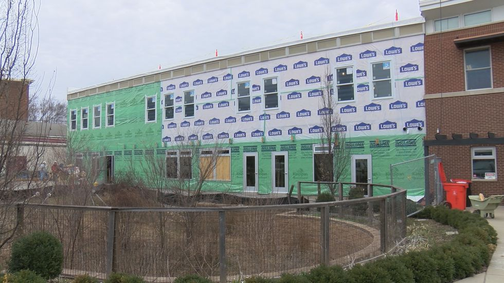 The expansion at YouthBuild will allow more students to become college and career ready.