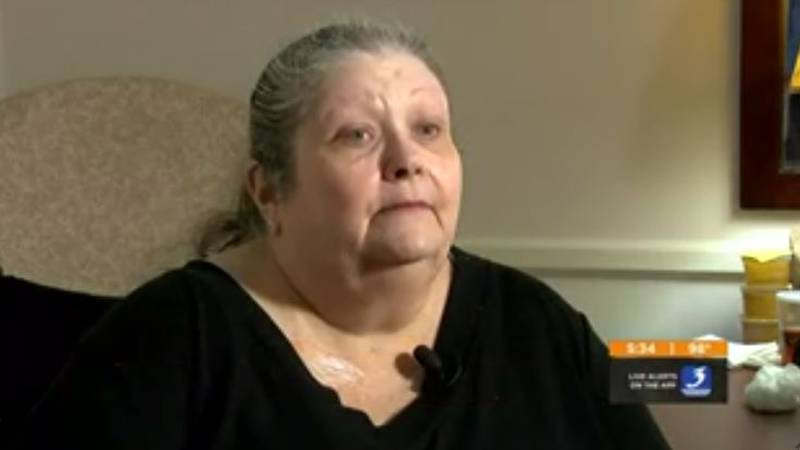 Jacquie Miller was shot four times in the 1989 Standard Gravure mass shooting, and needed seven...