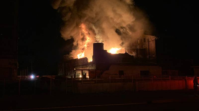 The fire was reported around 2:35 a.m. at the intersection of Logan and Lampton streets,...
