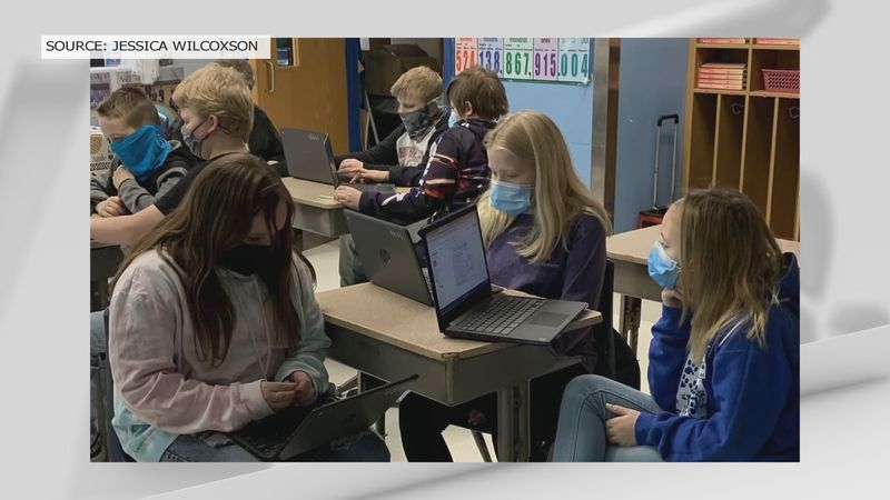 Trimble County Schools is one of handful of districts that re-opened to in-person learning in...