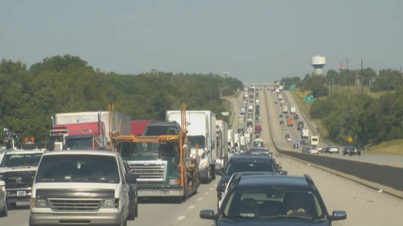 The reconstruction of the June 12, 2021 deadly crash on Interstate 64 in Shelby County caused...