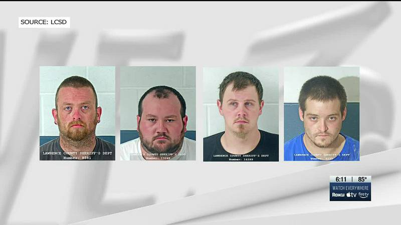 Indiana State Police, which worked with multiple other agencies, announced the arrests of Adam...