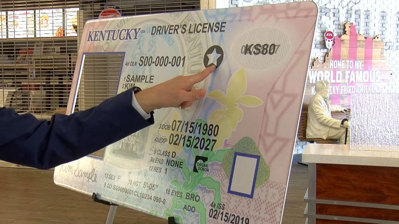 There are several differences between a traditional Kentucky license and a Real ID. Perhaps one...
