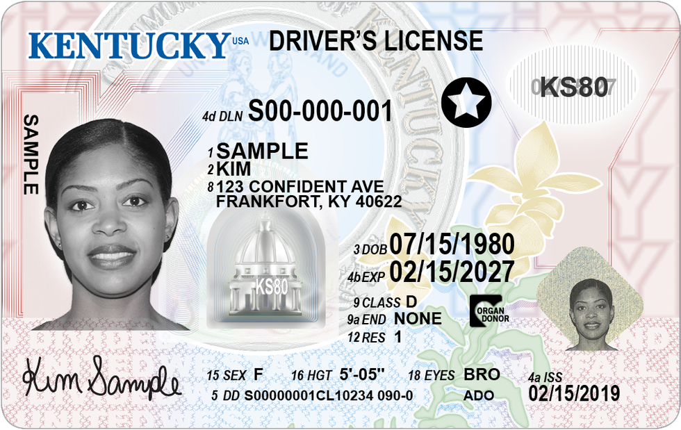This is what a driver's license will look like when residents opt for it be a Voluntary Travel...