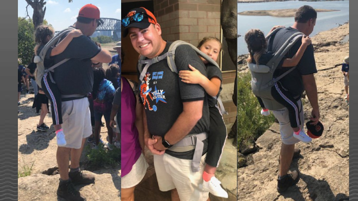 Instead of missing out on a field trip to Falls of the Ohio, Ryan, who uses a wheelchair, was...