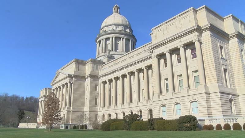 The Kentucky State Capitol in Frankfort. (Source: WAVE 3 News)