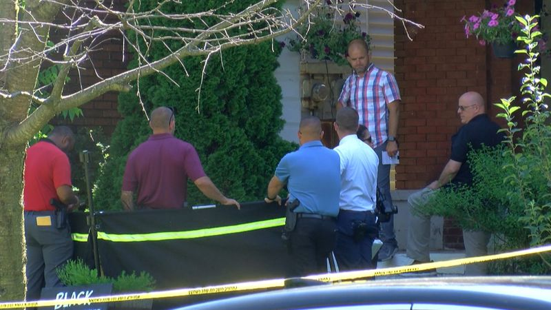 Police found a man dead on the front steps of a home on Floyd Street on Monday morning....